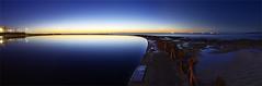 Canoe Pool (Kiall Frost) Tags: water pool sunrise newcastle pano australia panoramic canoe nsw kiallfrost