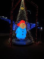 プレジャーフォレストのイメージキャラクターパディントンベアのバルーンの写真