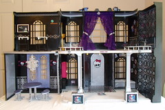 Monster High's High School (The Designalicious Diva) Tags: school house abbey monster de dead high doll dolls furniture song nile made hyde tired leader cheer bling cheerleader spectra custom cleo hold dollhouse fright duce fearleader yelps draculaura bominable vondergeist gouhla