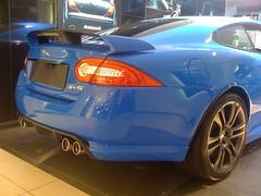 Jaguar XKR-S (Benoit cars) Tags: blue london cars jaguar supercar sportscars supercars streetcars xkrs worldcars