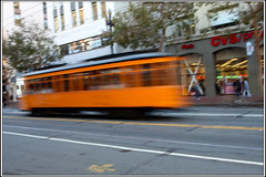 MUNI 2  [San Francisco Municipal Railway] (SergeK ) Tags: sf california street city orange usa west bus speed train square coast san francisco union transport railway system muni transit ville cvs municipal californie santhe sergek muni2