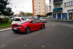 Ferrari F430 Scuderia - Tlthon ASA - (Nicolas Serre) Tags: 3 club automobile ferrari asa scuderia dax f430 dcembre samedi telethon 2011 tlthon daquitaine sportives