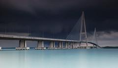 a bridge with no name... (mohd fahmi husen) Tags: bridge malaysia slowshutter desaru johore slowwater