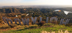 Hollywood Sign | Back Side | PC043549 Panorama-1 (:munna) Tags: california sign back los downtown angeles side reservoir observatory hollywood griffith