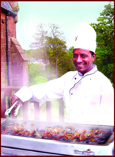 Celebrity chef Mafiz Ali announces Burns Supper at Ayr Spice