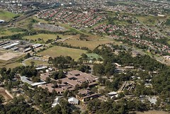 Aerial view of the University of Newcastle, Australia - 1992 (UON Library,University of Newcastle, Australia) Tags: aerialview australia nsw newcastleuniversity theuniversityofnewcastle b1636692743 uonphotographeruon