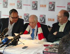 Press Conference (Ronnie Biggs The Album) Tags: ronnie biggs greattrainrobbery oddmanout ronniebiggs ronaldbiggs
