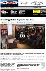 Sky News (Ronnie Biggs The Album) Tags: ronnie biggs greattrainrobbery oddmanout ronniebiggs ronaldbiggs
