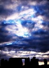 Stonehenge (Peter Denton) Tags: uk england sky history archaeology silhouette clouds landscape countryside ancienthistory standingstones europe eu stonehenge druid wiltshire bronzeage neolithic henge