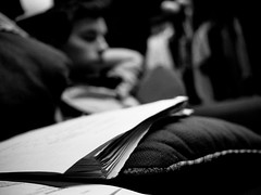 Finals Week (345/365) (Jack Amick) Tags: bw white black college olympus study 365 ep1 project365