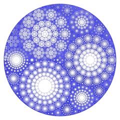 Snowflakes Catalog (fdecomite) Tags: circle geometry packing math fractal gasket recursivity imagej apollonian