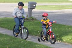 Bikes (Craig Dyni) Tags: colin cousin finn dyni
