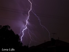 Lightening (Joshua Peoples Photography) Tags: light night lightning fremantle