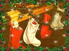'Twas the Night Before Christmas 4 (Cathlon) Tags: christmas stockings toys challenge scavenge ansh twasthenightbeforechristmas
