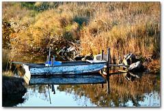 la barca del pescatore (erman_53fotoclik) Tags: barca natura acqua riflessi flickrstruereflection1 flickrstruereflection2