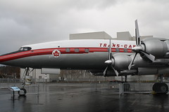 CF-TGE (Lockheed Constellation) (AirlineCrazy) Tags: field museum airport aircraft jets jfk airline museumofflight concorde airforceone boeing connie 707 airlines lockheed kennedy boeing747 747 constellation 737 727 boeingfield boeing707 bfi boeing737 boeing727 airpark kbfi boeingmuseumofflight gboag boeing747100 n874aa cftge n515na ra001 sam970 boeing737100 mrskyguy wwwairlinecrazycom wwwtwittercommrskyguy