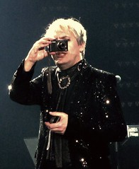 Nick Rhodes (Adam Hampton-Matthews) Tags: lighting camera uk rock canon newcastle keys lights photo concert birmingham nickrhodes tour mark live stage gig livemusic performing pop synth singer drummer duranduran mic eighties performer guitarist simonlebon johntaylor ronson 80smusic rogertaylor 2011 metroradioarena andytaylor livemusicphotography newcastlemusic girlpanic allyouneedisnowtour
