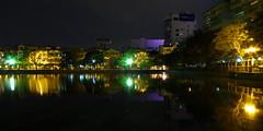 Hồ Giáp Bát, Hanoi (чãvìnkωhỉtз) Tags: longexposure lake night lumix raw cityscape vietnam hanoi 2011 việtnam hồ hànội lx5 giapbat quận hoangmai giápbát hoàngmai hồgiápbát hogiapbat giapbatlake gavinkwhite