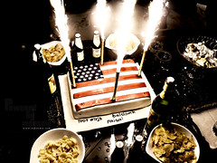 Bye bye Saudi Arabia (InDooMe) Tags: party usa cake america united states