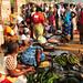 bananas plantain at Bangui market