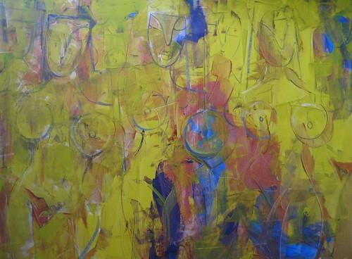 Mujeres Perdidas - Painting - Original