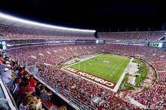 Late Night Nachos at Bryant Denny Stadium - The Tide overwhelms North Texas (bandman12) Tags: tide sec crimsontide collegefootball universityofalabama alabamafootball secfootball northtexasstate bamachannel