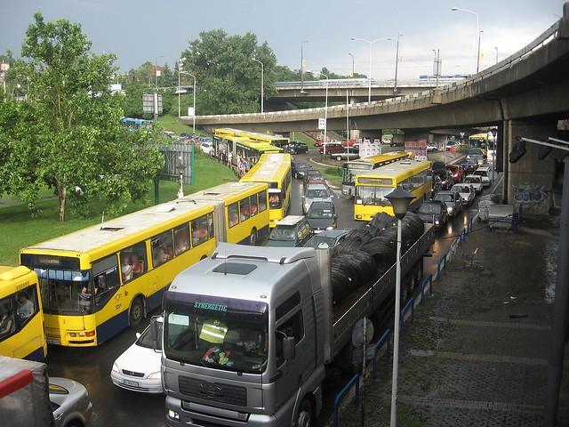 Saobraćajni kolaps u Beogradu