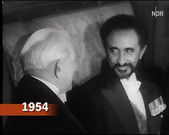 Emperor Haile Selassie in Hamburg 1954 (royalist_today) Tags: hamburg 1954 monarch kaiser ethiopia royalty monarchy emperor haileselassie