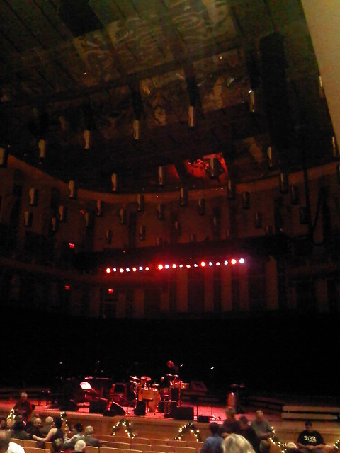 the stage is set for PINK MARTINI at the Music Center at Strathmore