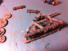 Warp Lightning Cannon progress (benjibot) Tags: painting fantasy warhammer skaven warplightningcannon