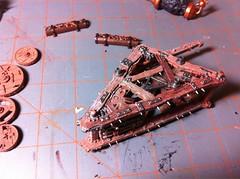 Warp Lightning Cannon progress (benjibot) Tags: painting fantasy warhammer skaven warplightningcannon