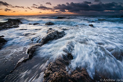 Lower Largo - Explored!! (OnlyEverOneJack) Tags: water sunrise dawn coast scotland slow fife sony 100mm east coastal 09 nd lower reverse alpha grad largo hitech density neutral eastneuk neuk a900 lowerlargo sonyalphaa900 onlyeveronejack imagesbyandrewjack