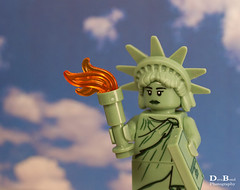 Statue of Liberty (Fizikal Rex) Tags: usa lego fake minifig statueofliberty odc 3652 series6