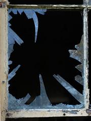 The Windows of Knockdromin (Vlado V) Tags: old ireland dublin house abandoned broken window glass decay olympus rush e510 knockdromin