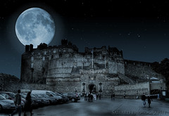 Edinburgh Castle night (SawardPhotography) Tags: castle edinburgh