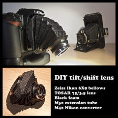 Spongy Body (Terapixel) Tags: zeiss diy explore homemade m42 tilt ikon bellows balgen