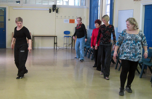 Zumba in action by Hull Adult Education