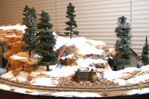 On30 micro layout Winter Scene - a photo on Flickriver