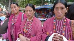 Monpa Mahila (Sirensongs) Tags: india women indigenous 2012 arunachal bihar bodhgaya kalachakra sirensongs monpa