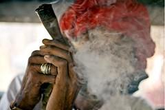 Rabari chilum (PawelBienkowski) Tags: india pipe culture smoking tradition tobacco rajasthan nationalgeographic rabari mtabu tribals chilum shilom tribesofindia localtobacco