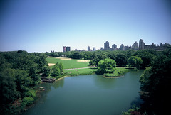 Summer in Central Park (kevin dooley) Tags: park camera new york city nyc newyorkcity summer urban ny newyork film analog 35mm lens lomo lomography slim angle centralpark cam wide july plastic cheap viv vivitar ultra extra vws nycity 22mm 2011 vivitarultrawideandslim vuws vivalaviv