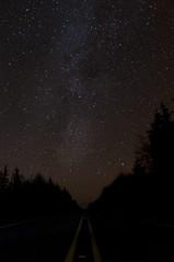 Road to the Milky Way's tail (Husaria) Tags: road night stars washington nikon nebula astrophotography milkyway deneb d5000 Astrometrydotnet:status=solved Astrometrydotnet:version=14400 Astrometrydotnet:id=alpha20120132946907