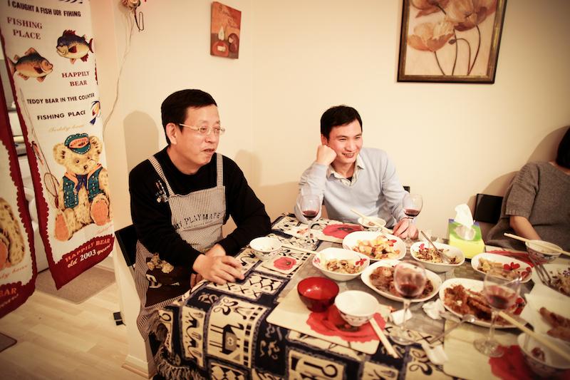 Chen Jie home dinner 034