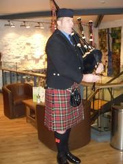 Pipe Major Andrew Bunyan (cessna152towser) Tags: kilt bagpipes pipeband hawick burnssupper pipemajor selkirkpipeband
