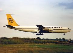 TC-GHA Boeing 707-324C Golden Horn Aviation (Keith B Pics) Tags: boeing 707 southend sen goldenhorn boeing707 b707 tcgha egmc goldenhornaviation