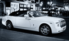 Big Boss (Mr Azrakino) Tags: paris pentax rolls phantom royce k5 youssef drophead azrak