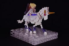 Eilonwy (Amethyst Unicorn) (Siercon and Coral) Tags: horse purple lego fig wizard fairy amethyst sig unicorn faerie moc eilonwy magess eilonwy77