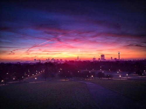 Primrose Hill sunrise.. #1