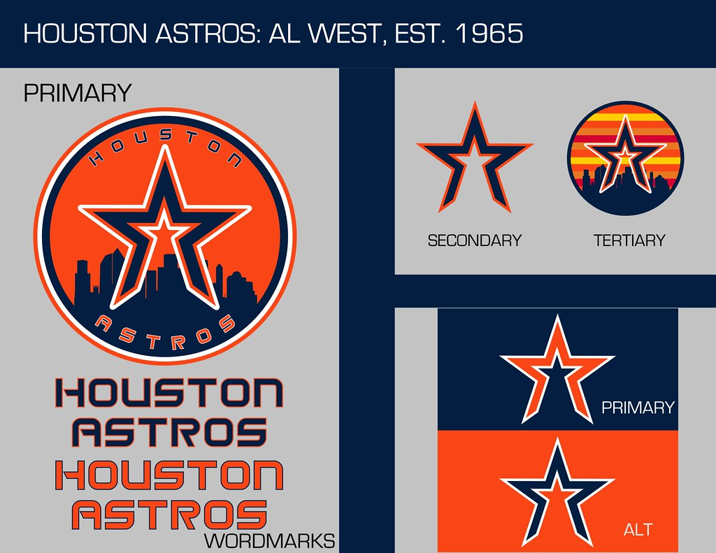 Houston Astros: Logo Sheet