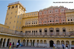 0690 PALAIS DES VENTS DE JAIPUR (jean pierre floch) Tags: india temple tajmahal palais pushkar rajasthan forteresse inde mosqué templee